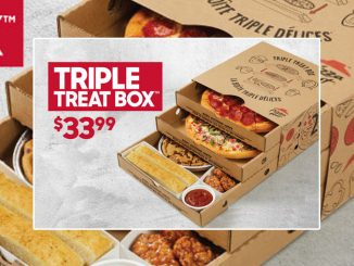 Pizza Hut Canada Offers Triple Treat Box For $33.99