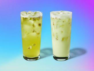 Starbucks Canada Pours New Kiwi Starfruit Starbucks Refreshers