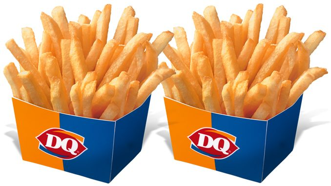 Dairy Queen Canada Offers Free Fries Via The DQ Mobile App Through September 15, 2020