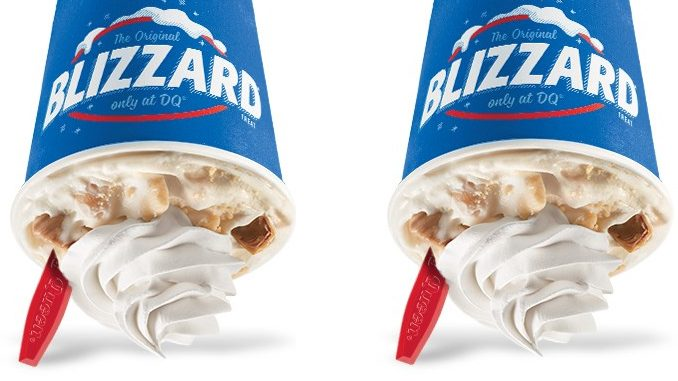 Dairy Queen Canada Welcomes New Caramel Apple Pie Blizzard