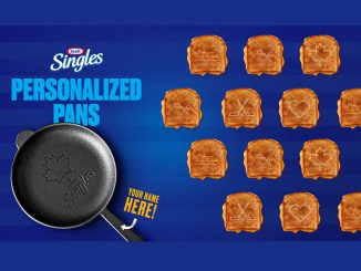 Kraft Singles Canada Is Giving Away Limited-Edition Personalized Cast Iron Pans