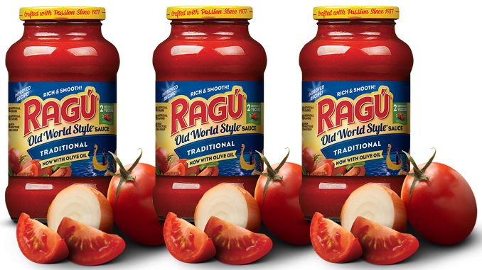 Ragu Pasta Sauce No Longer Available In Canada