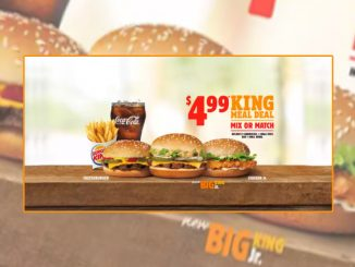 Burger King Canada Adds New Big King Jr. To $4.99 King Meal Deal