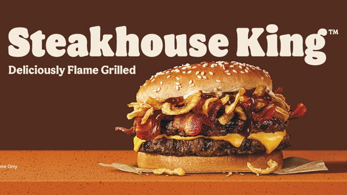 Burger King Canada Introduces New Steakhouse King