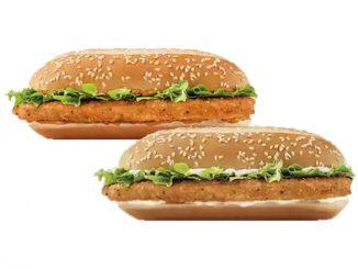 Burger King Canada Offers 2 for $6 Mix & Match Chicken Sandwich Deal