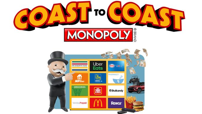 Coast To Coast Monopoly Returns To McDonald's Canada On October 6, 2020