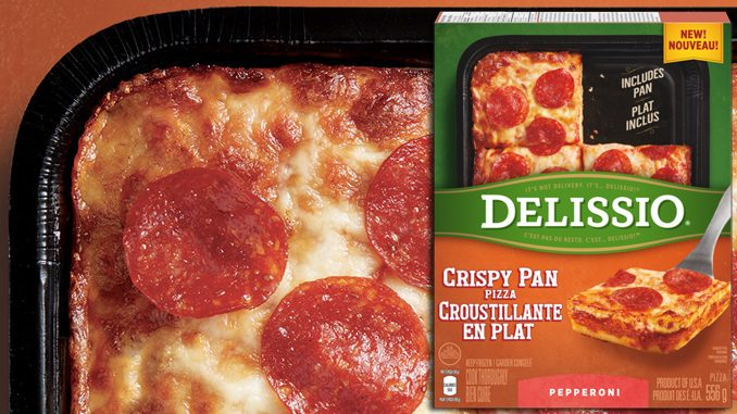 Delissio Introduces New Crispy Pan Pizza