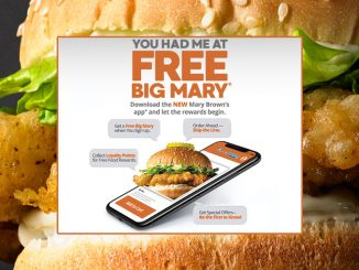 Free Big Mary Chicken Sandwich For Downloading The New Mary Brown's App