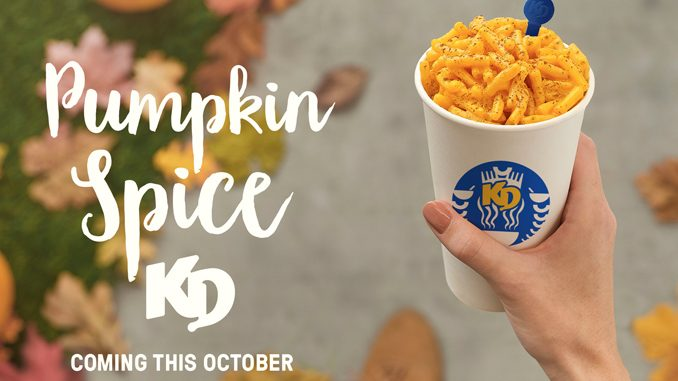 Kraft Dinner Reveals New Pumpkin Spice KD