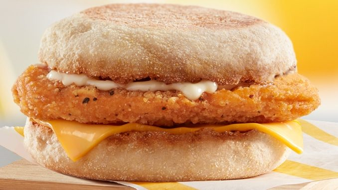 McDonald's Canada Offers $2.49 Chicken McMuffin Deal