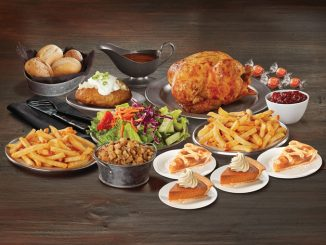 Swiss Chalet Offers Seasonal Thanksgiving Feast Menu Through October 12, 2020