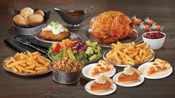 Swiss Chalet Offers Seasonal Thanksgiving Feast Menu Through October 12, 2020