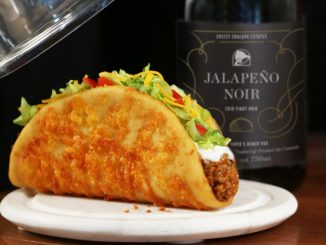 Taco Bell Canada Is Pairing Real Wine With Returning Toasted Cheesy Chalupa