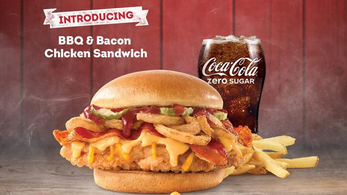 Wendy's Canada Introduces New BBQ & Bacon Chicken Sandwich