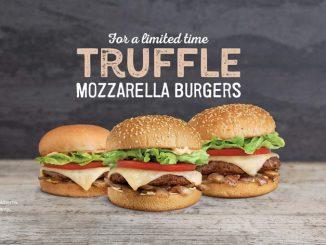 A&W Canada Debuts New Truffle Mozzarella Burgers