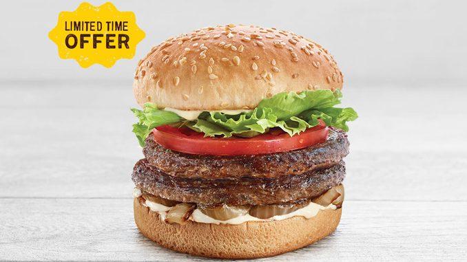 A&W Canada Now Offering Bison Burgers In Manitoba, Alberta, And Saskatchewan