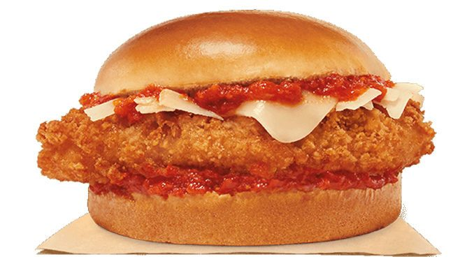 Burger King Canada Brings Back The Chicken Parmesan Sandwich