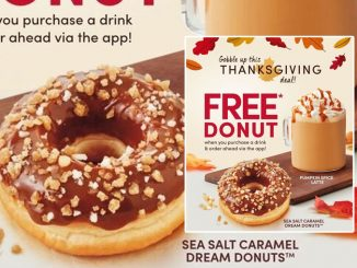 Buy A Beverage Via The Tim Hortons App, Get A Free Donut Of Your Choice Through October 12, 2020