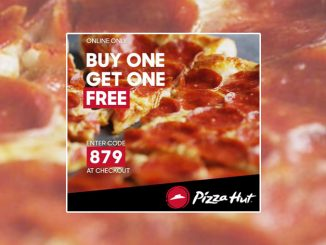 Buy One Medium Pizza Online, Get One Free At Pizza Hut Canada For A Limited Time