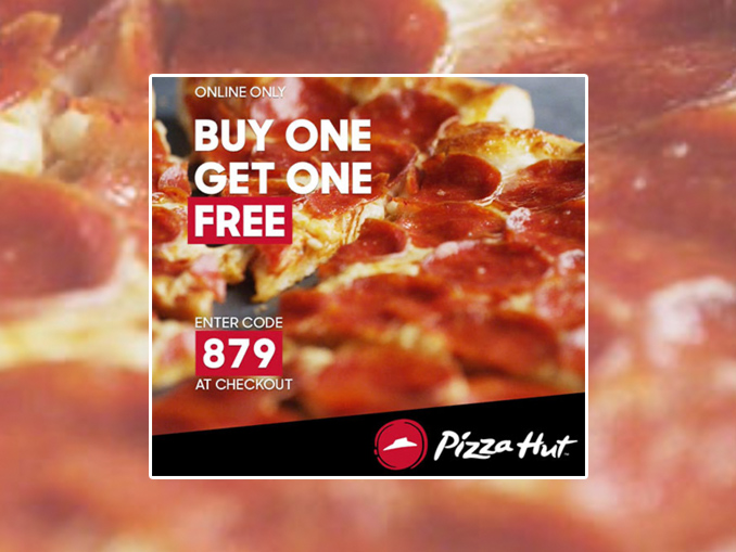 Buy One Medium Pizza Online, Get One Free At Pizza Hut Canada For A Limited Time - Canadify