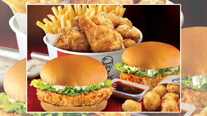 KFC Canada Welcomes Back 2 Can Dine For $15 Deal