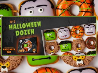 Krispy Kreme Canada Introduces New Scary-Sweet Monster Doughnuts