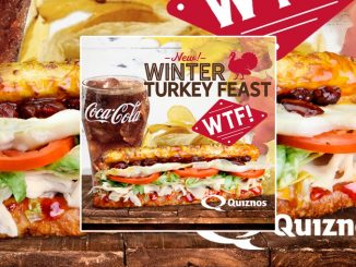 Quiznos Canada Introduces New Winter Turkey Feast Sandwich