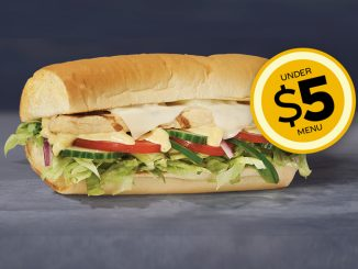 Subway Canada Adds 6-Inch Oven Roasted Chicken Sandwich To Under $5 Menu