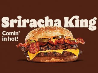 Burger King Canada Introduces New Sriracha King Sandwich