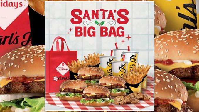 Carl's Jr. Canada Launches New Santa's Big Bag Deal