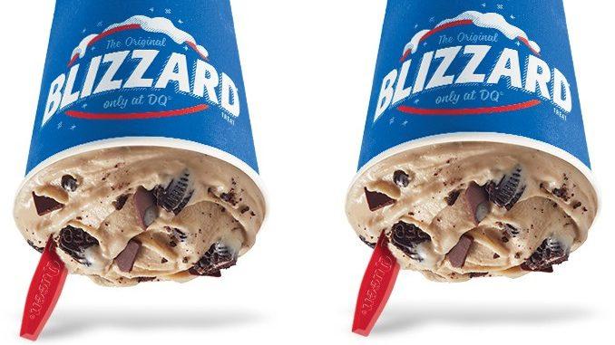 Dairy Queen Canada Adds New Oreo Mocha Fudge Blizzard