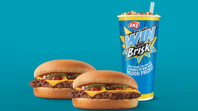 Dairy Queen Canada Offers 2 Cheeseburgers And Brisk Beverage For $6.49
