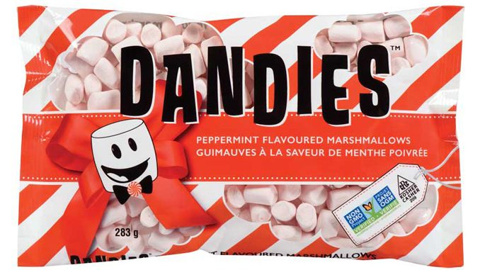 Dandies Introduces New Plant-Based Peppermint Marshmallows