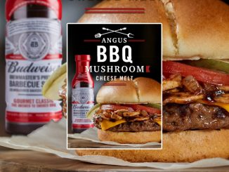 Harvey's Introduces New Angus BBQ Mushroom Cheese Melt Burger