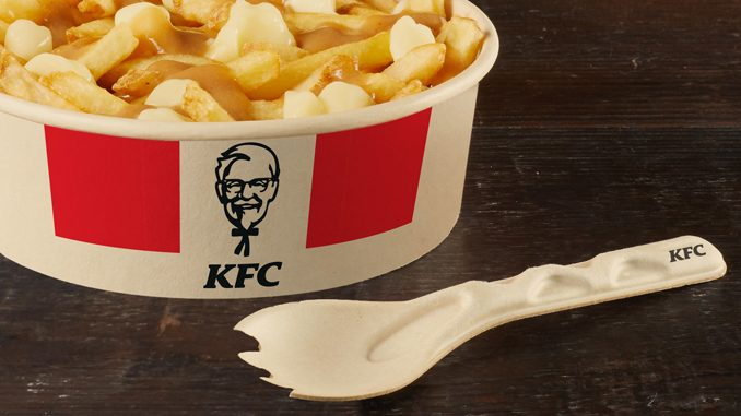 KFC Canada Testing New Compostable 'Spork' Made From Bamboo And Sugar Cane