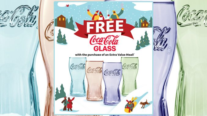 Limited-Edition 2020 Coca-Cola Glasses Are Back At McDonald's In Walmart Canada Locations