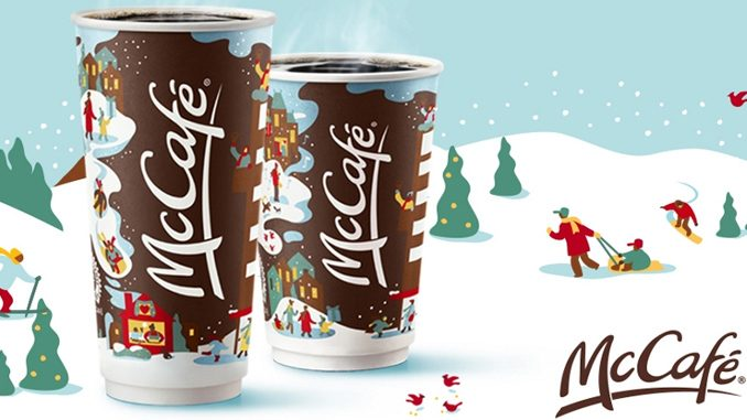 McDonald's Canada Offers $1 Any Size Coffee From November 30 To December 6, 2020