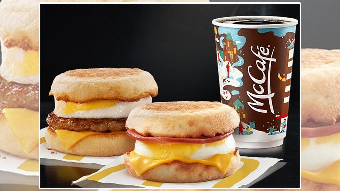 McDonald's Canada Offers 2 For $5 McMuffin Sandwiches Deal