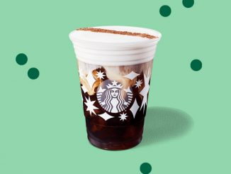 Starbucks Canada Welcomes Back Irish Cream Cold Brew And Irish Cream Americano