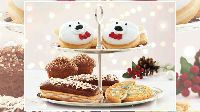 Tim Hortons Launches New Polar Bear Dream Donut As Part Of New 2020 Holiday Menu
