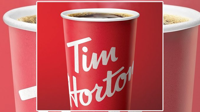 Tim Hortons Offers Free Hot Beverages To Veterans And Armed Forces Members On November 11, 2020
