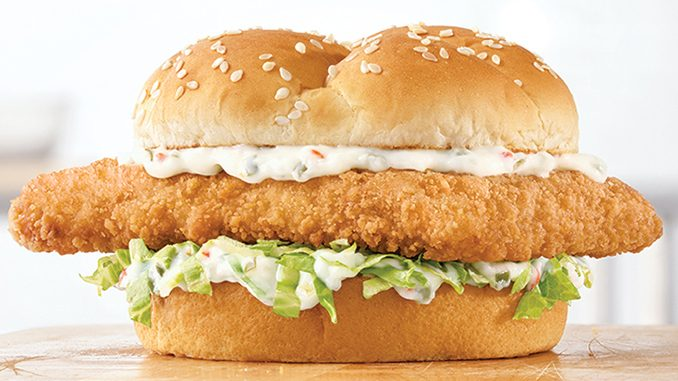 Arby's Canada Welcomes Back The Crispy Fish Sandwich