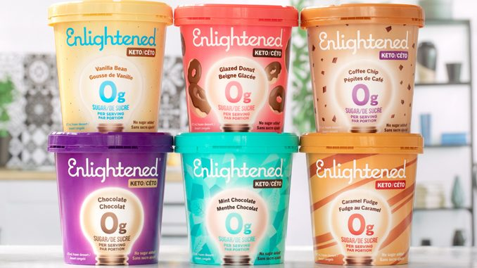 Enlightened Launches New Exclusive Keto Pints In Canada