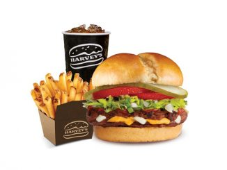Get 30% Off A Stuffed Cheeseburger Meal At Harvey's On December 21, 2020