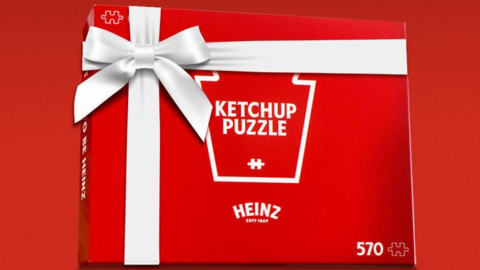 Heinz Canada Releases All-Red Ketchup Puzzle For The 2020 Holiday Season
