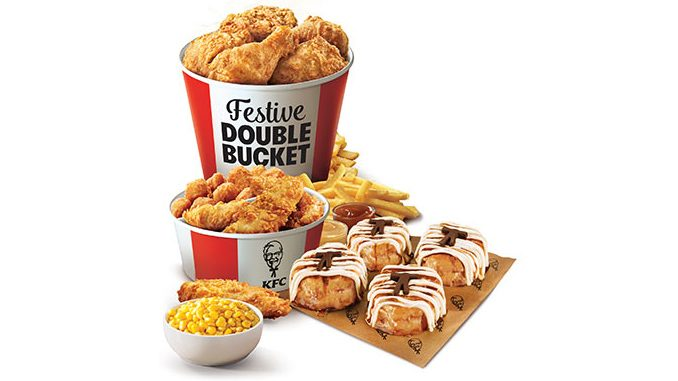 KFC Canada Offers New Festive Double Bucket For The 2020 Holiday Season