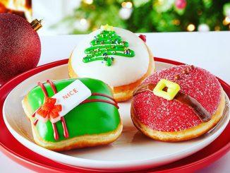Krispy Kreme Canada Releases New 2020 Holiday Doughnuts