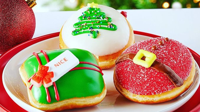 Krispy Kreme Canada Releases New 2020 Holiday Doughnuts