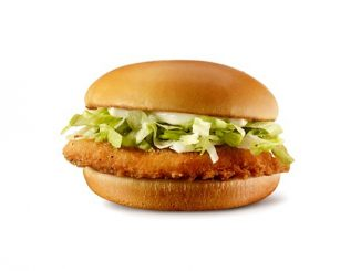 McDonald's Canada Offers $1 Junior Chicken Sandwich On December 24, 2020