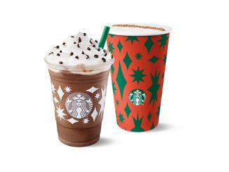 Starbucks Canada Offers Buy One, Get One Free Handcrafted Drink Through December 14, 2020
